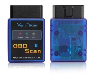 OBD 2 II BLUETOOTH MINI ELM327 V-GATE