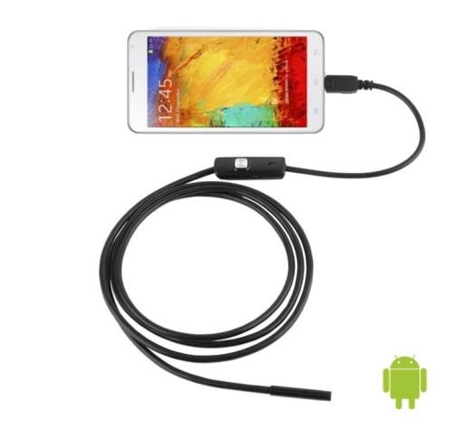 Fantastyczny KAMERA INSPEKCYJNA USB 2M ENDOSKOP ANDROID LED V2 Nexus FG64